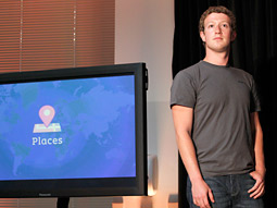 Facebook CEO Mark Zuckerberg introduces Faces.