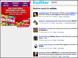 In a bold move this past March, Skittles.com became a directory that sent visitors to user-generated-content sites where they could add to the interactive discussion of the brand.