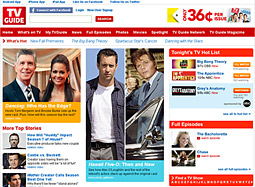 ABC has signed on as a sponsor for TVGuide's check-in feature for  shows listed in its editorial, The Hot List.
