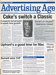 Advertising Age 07-15-1985