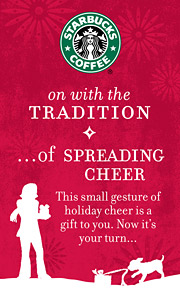 Starbucks Holiday Viral Effort Doubles As Social
