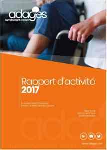 rapport d'activité 2017,adages,associationmontpellier,hérault,occitanie,