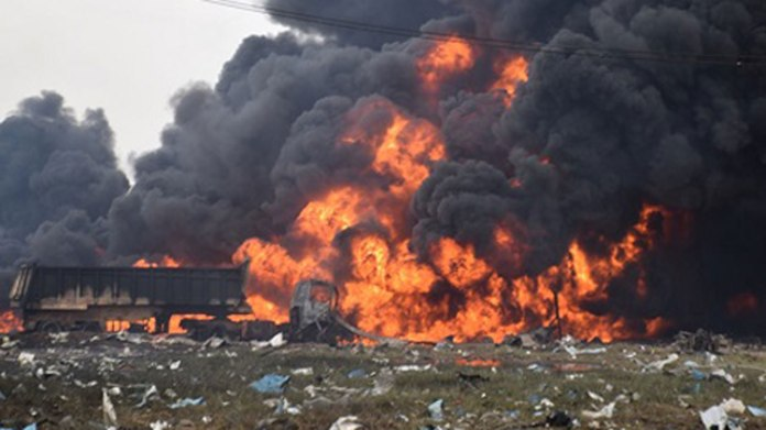 Abule-Ado explosion