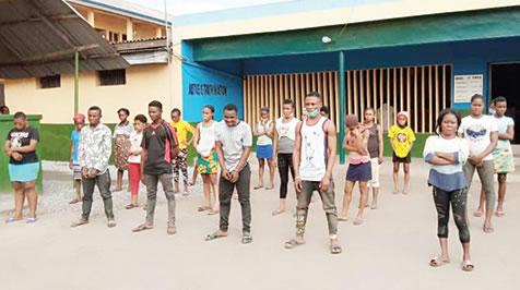 4 Men arrested for trafficking 24 Akwayibom Girls in Lagos