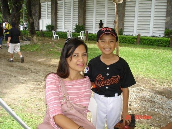 first baseball game