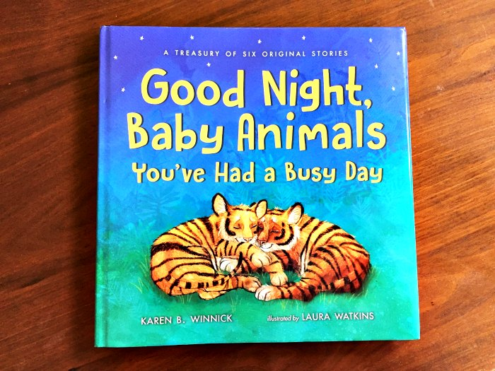 Good Night, Baby Animals, You've Had A Busy Day by Karen Winnick