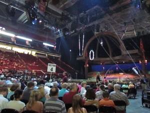 Alegria Audience at Cirque du Soleil