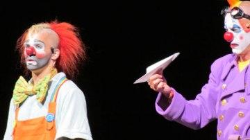 Clowns at Alegria Cique du Soleil Raleigh, NC