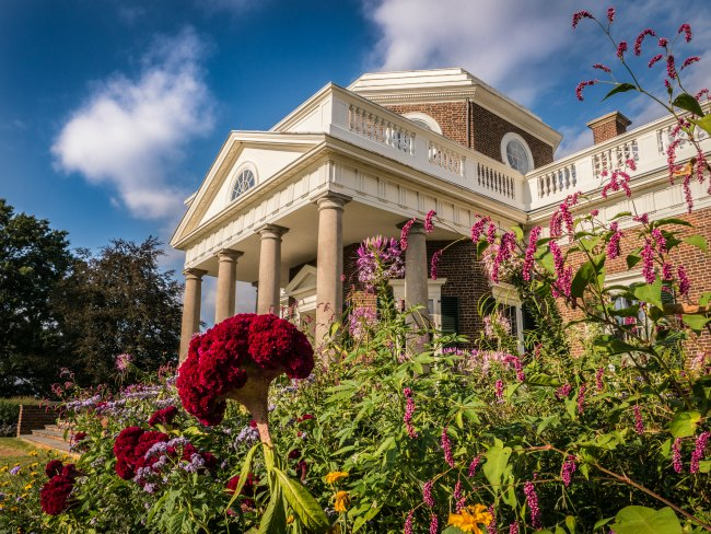 Spend the day in Charlottesville, VA and include a stop at Thomas Jefferson's Monticello