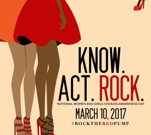 #RocktheRedPump for National Women and Girls HIV/AIDS Awareness Day