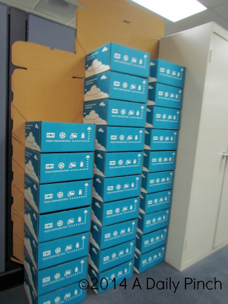 YesVideo Packages Getting Ready to be Shipped