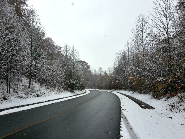 Blueridge Parkway. Asheville, NC. Blueridge Parkway Visitors Center. November 2014