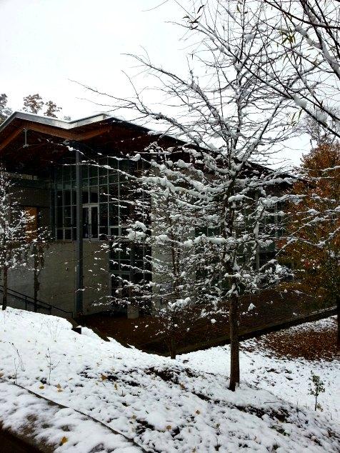 Asheville, NC. Blueridge Parkway Visitors Center. November 2014