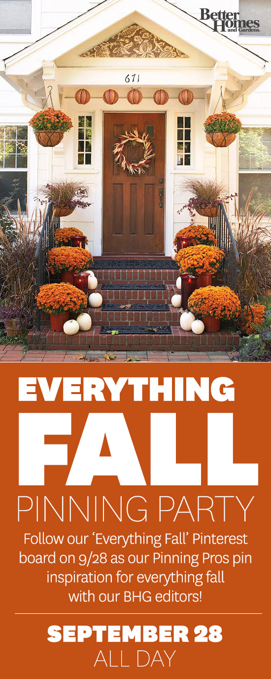 Everything Fall Pinning Party With Better Homes And
