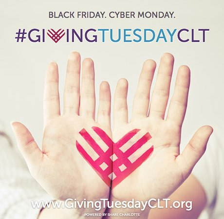 SHARE Charlotte Announces 2015 #GivingTuesdayCLT Campaign Goal