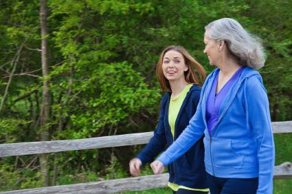 Friends Walking