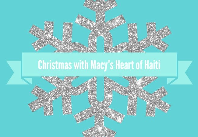 Giving back at Christmas with Macy's Heart of Haiti