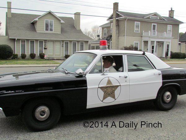 The Sheriff's Car: Mayberry, NC.