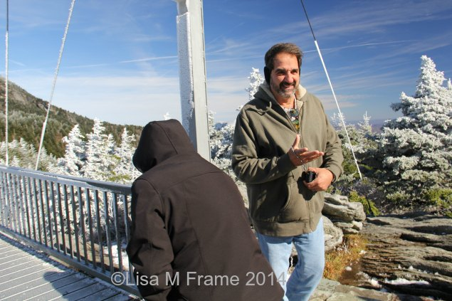 Paul and Susanne on Grandfather Mountain