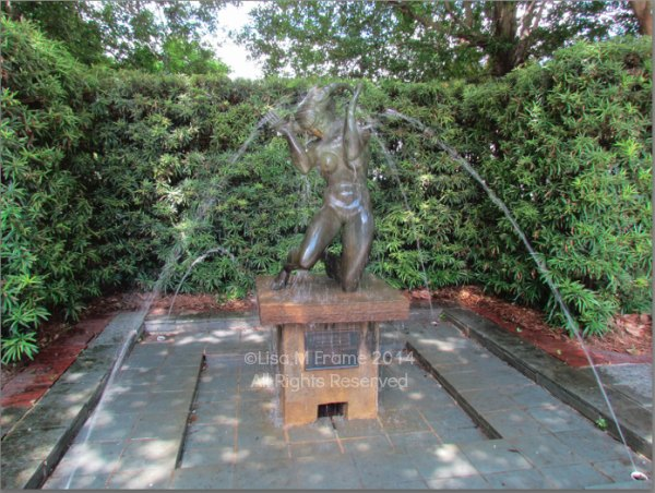 Peresephone Bathing in Charleston, SC
