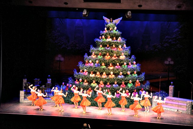 Singing Christmas Tree, Charlotte, NC