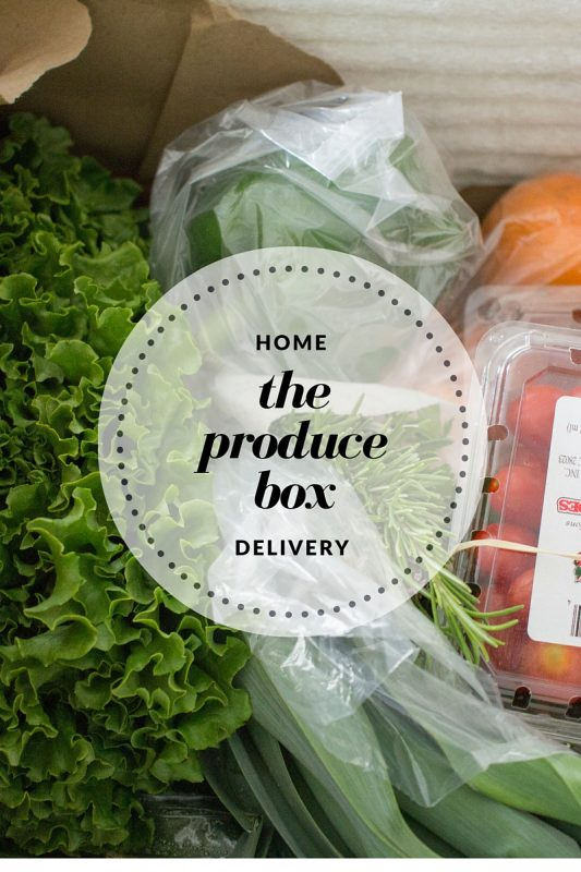 The Produce Box services NC for fresh produce delivery to your front door!