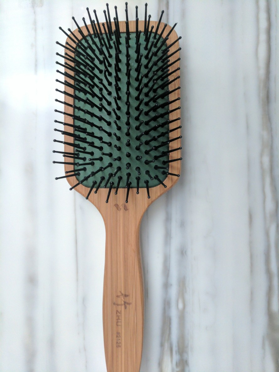 brush after