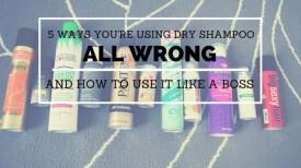 dry shampoo header