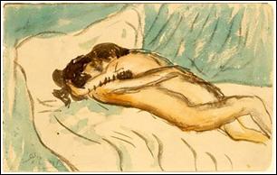 "Picasso's ""Etriente"" (Embrace)"