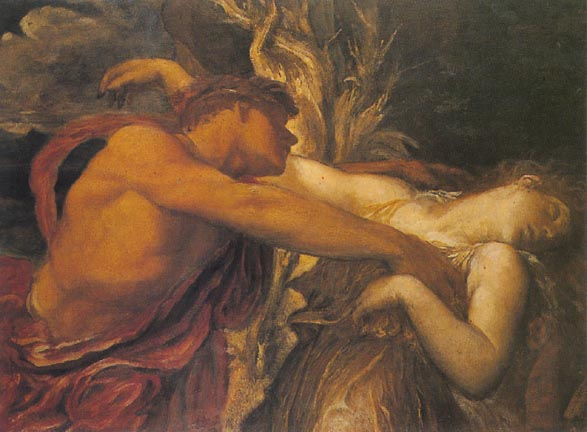orpheus and euridice george frederick Watts