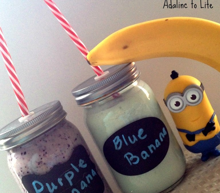 Minion Smoothies