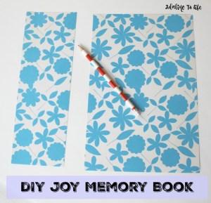 DIY Joy Memory Book