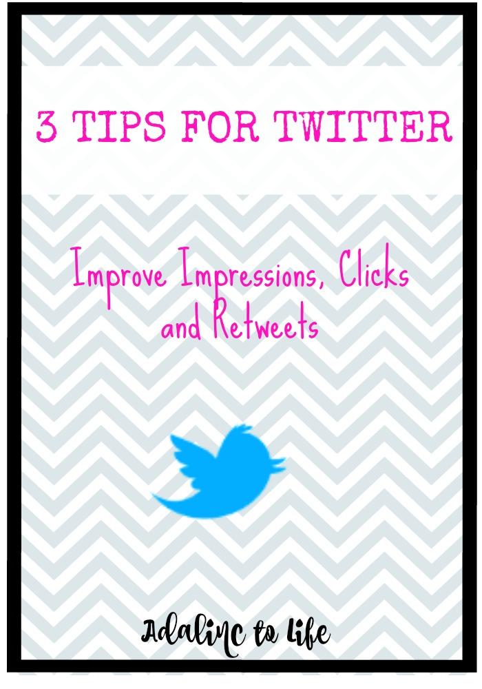 3 Tips for Twitter