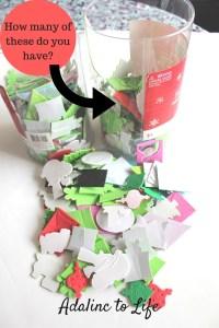Foam Sticker Storage post