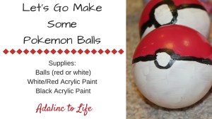 DIY Pokemon Balls let's make them 3