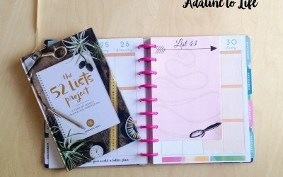 52 List Project – Week 44 Update +Free Printables