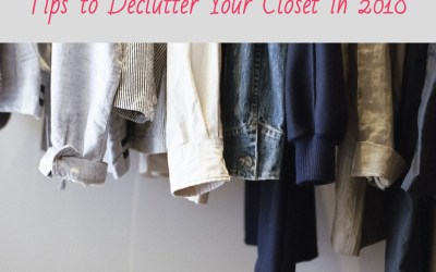 5 Tips to Help You Declutter Your Master Closet