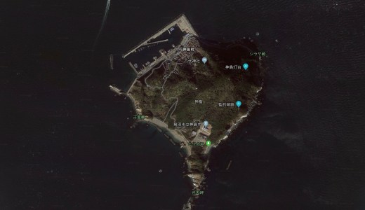 三重県神島は伊良湖水道ど真ん中だけあって釣り天国