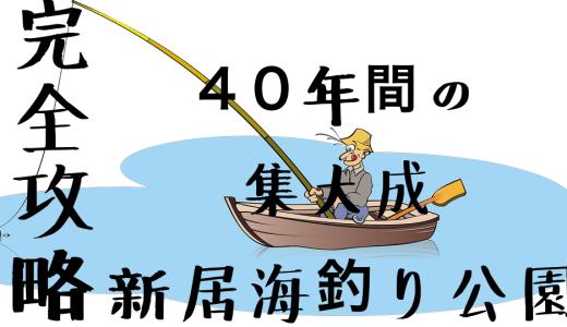 【完全攻略】新居海釣り公園まとめ【40年通ったベテランの直伝】