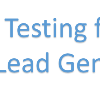 Ad Testing for Lead Gen