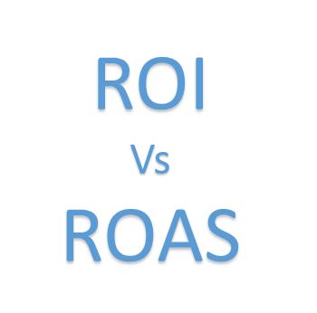 ROI vs ROAS