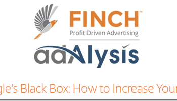 """Finch & Adalysis on the webinar """"Cracking Google's Black Box: How to Increase Your Quality Score"""""""