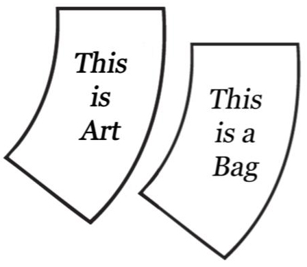 This is Art. This is a Bag.