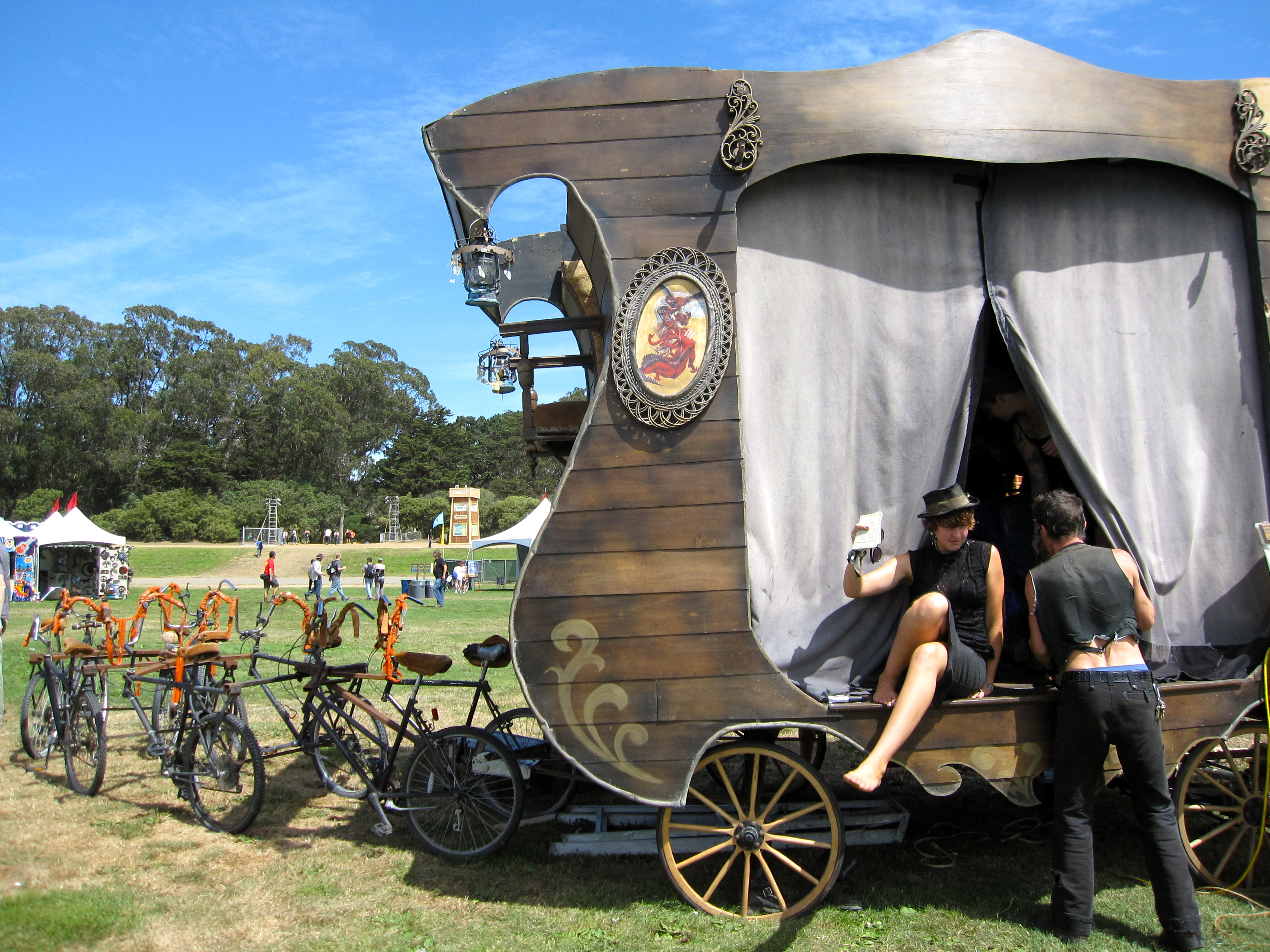 Human-powered-puppet-show-wagony-thingy