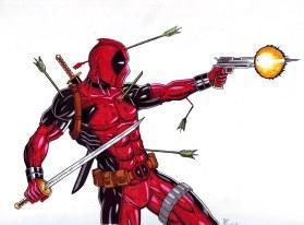 deadpool - arrow