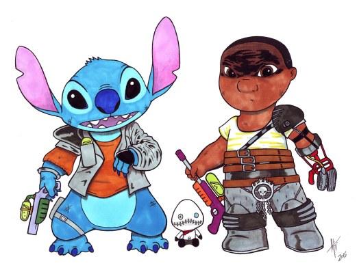 Lilosa and Mad Stitch