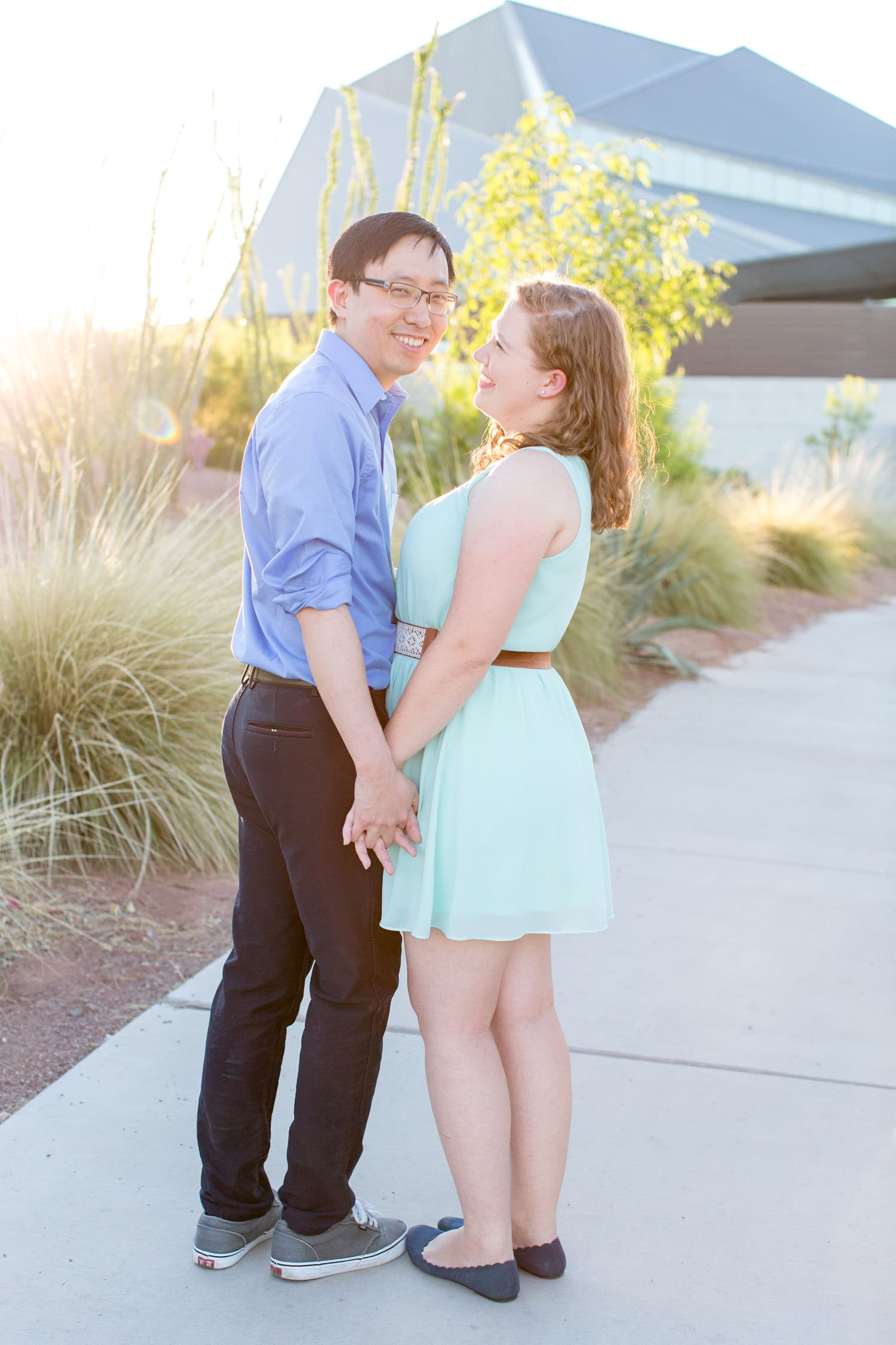 engagement at tempe town lake