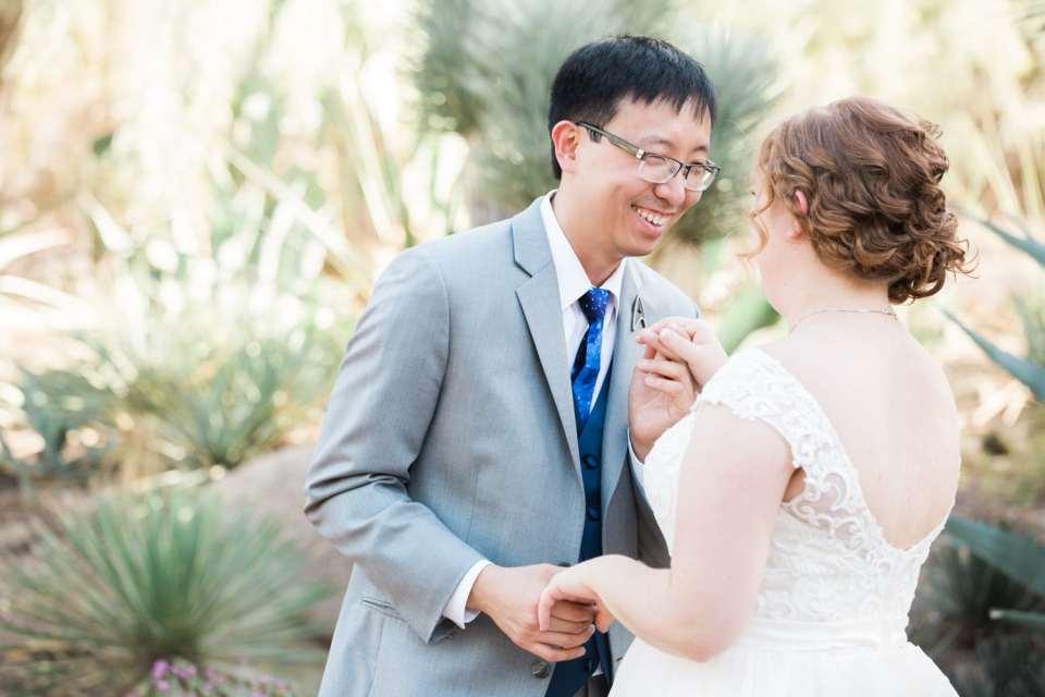 Arizona Desert Botanical Garden Wedding