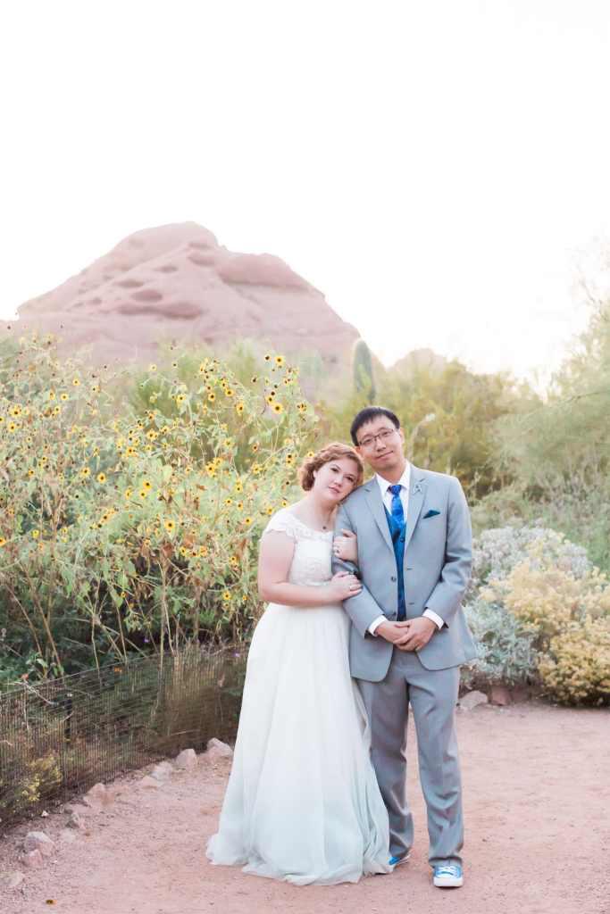 Desert Botanical Wedding