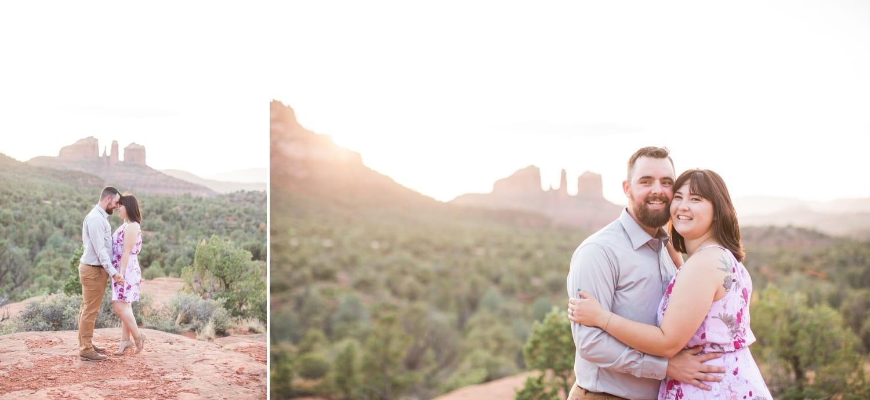 Sedona Sunset Engagement